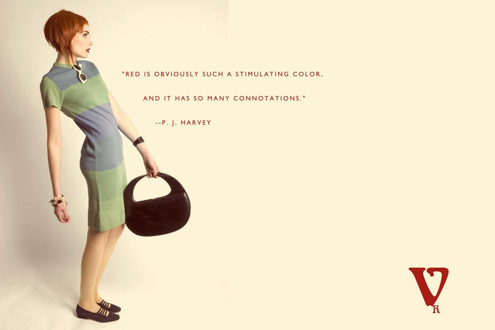 vintage mod 1960s fashion