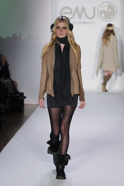Emu Australia at Elle Style360 NYFW Fall 2012