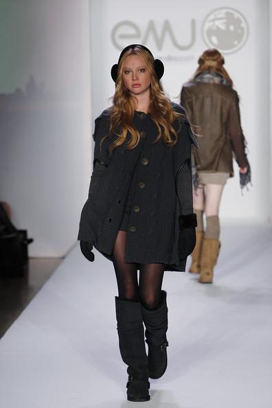 Emu Australia Fall 2012 at Elle Style360