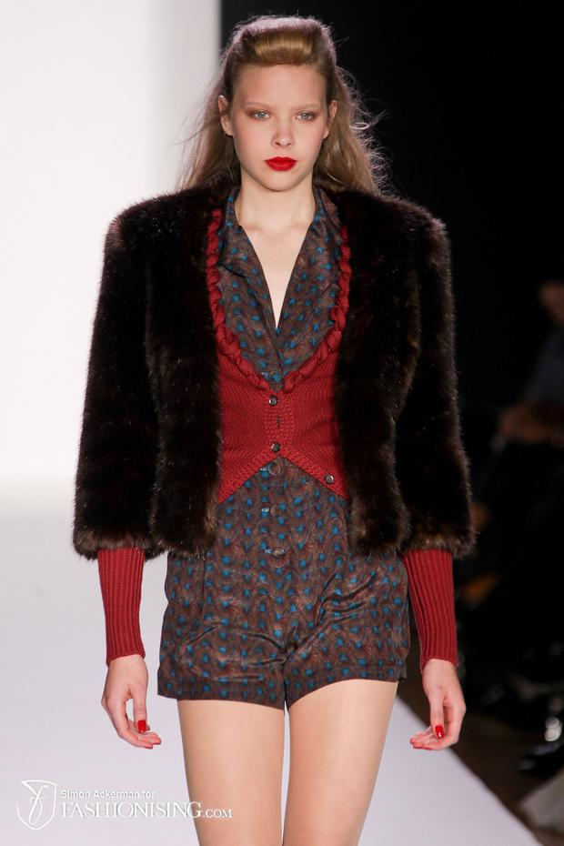 Bebe Black Fall 2012 at Elle Style360 NYFW AW12