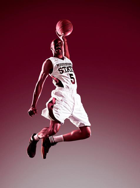 Mississippi Adidas NCAA basketball uniform ad